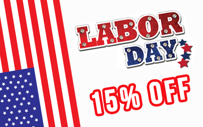 Dedicated Server promotion on Labor Day